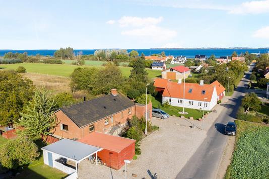 Villa på Havnevejen i Kerteminde - Luftfoto