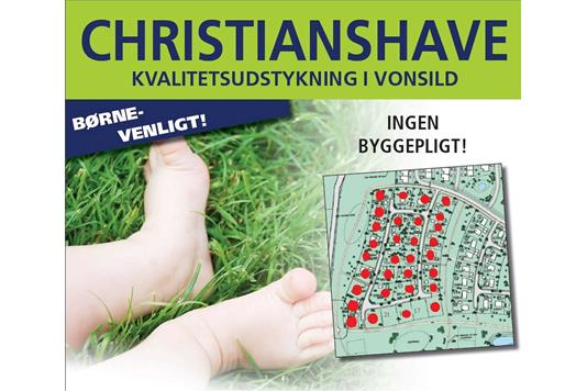 Helårsgrund på Christianshave i Kolding - Område