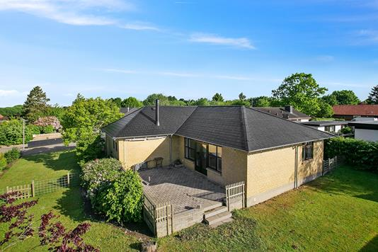 Villa på Kildevang i Kolding - Set fra haven