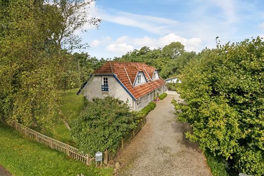 Villa på Løgervej i Bjert - Mastefoto