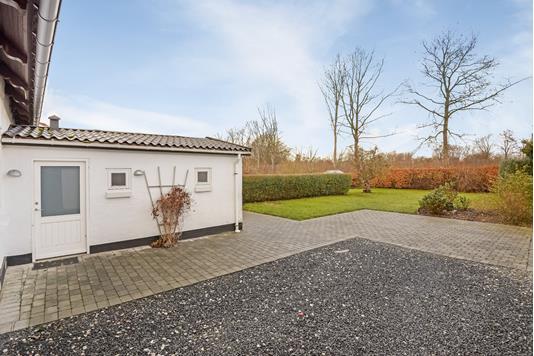 Villa på Præstediget i Sønder Stenderup - Terrasse