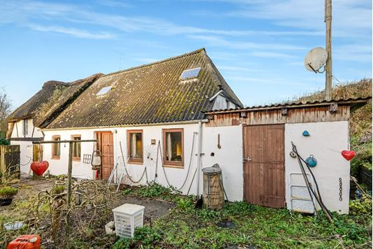 Villa på Stenholt i Sønder Stenderup - Ejendommen