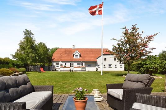 Landejendom på Aabenraavej i Kruså - Terrasse