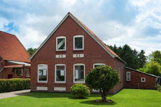 Villa på Gl Færgevej i Gråsten - Facade