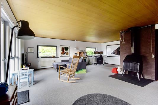Villa på Stenvej i Gråsten - Stue