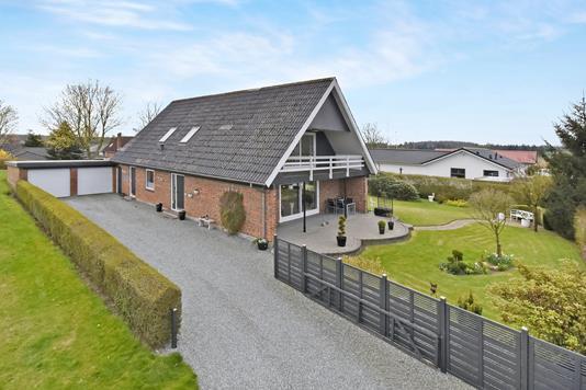 Villa på Havremarken i Kruså - Ejendommen