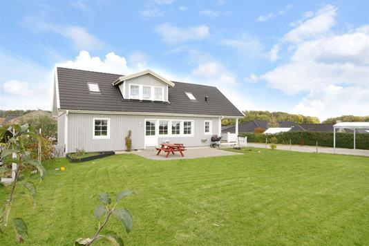 Villa på Dyrehegnet i Gråsten - Facade