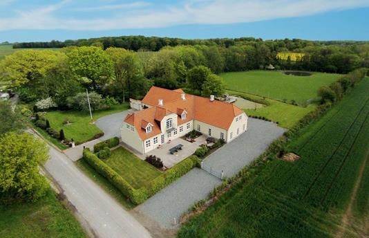 Villa på Bojskovvej i Gråsten - Facade