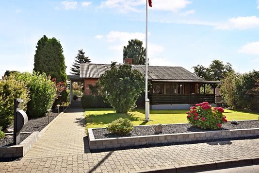 Villa på Bakkegården i Gråsten - Forhave