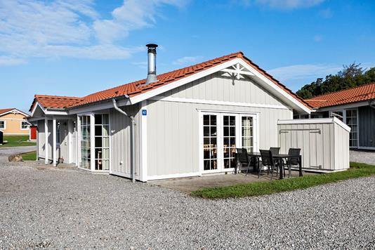 Ejerlejlighed på Marina Fiskenæs Feriepark i Gråsten - Ejendommen