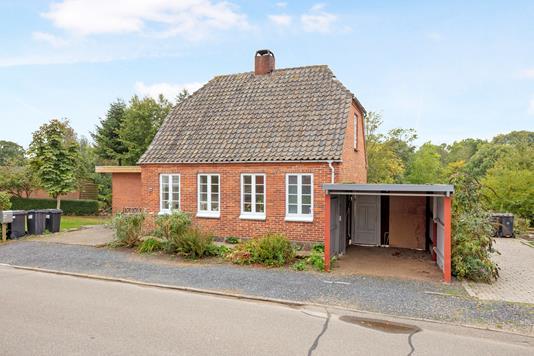 Villa på Kobberholmvej i Gråsten - Carport
