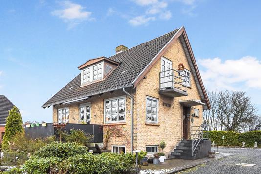Villa på Frøslevvej i Padborg - Ejendommen