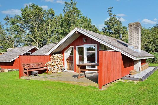 Fritidsbolig på Bredmaj i Egernsund - Terrasse