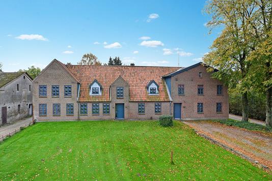 Villa på Vestergade i Padborg - Ejendommen