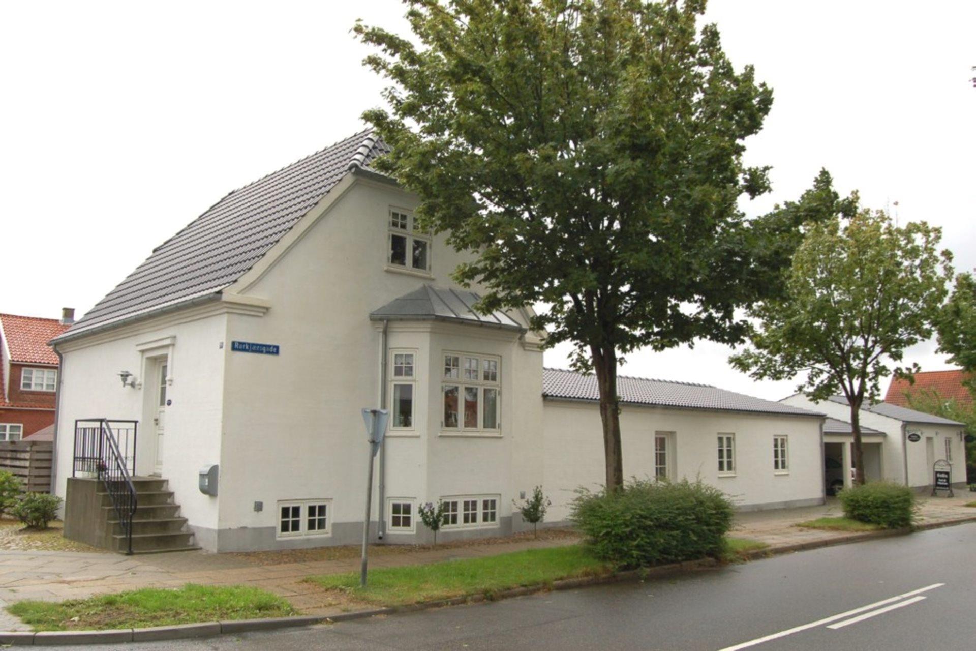 Villalejlighed på Baggesens Alle i Esbjerg - Ejendommen