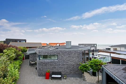 Villa på Kildestien i Esbjerg V - Set fra haven