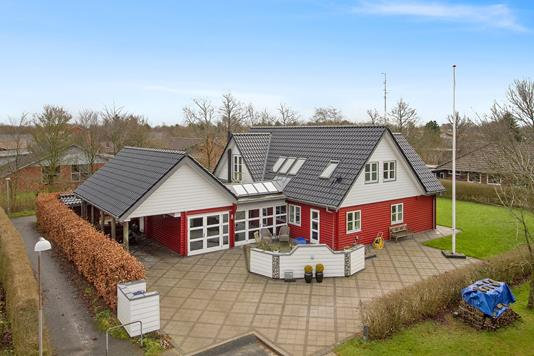 Villa på Havremarken i Gredstedbro - Ejendommen