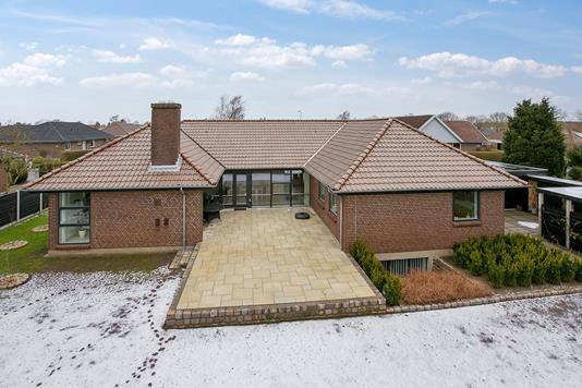 Villa på Vangen i Esbjerg N - Set fra haven