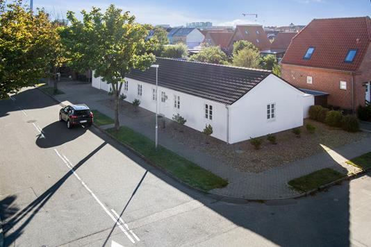 Villa på Rørkjærsgade i Esbjerg - Set fra vejen