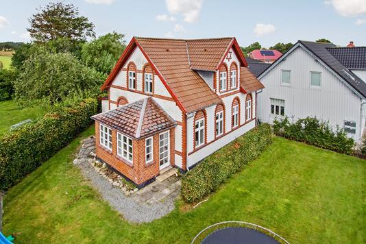 Villa på Andrup Byvej i Esbjerg Ø - Set fra haven