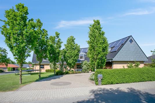 Villa på Nørrevang i Tistrup - Set fra vejen