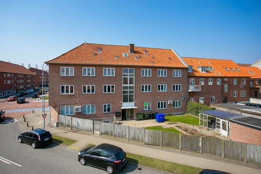 Ejerlejlighed på Knudedybet i Esbjerg - Facade