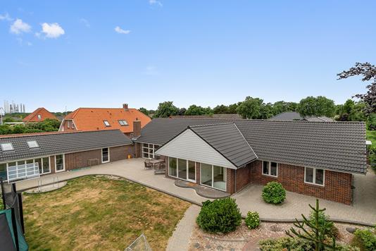 Villa på Parkvej i Esbjerg V - Set fra haven