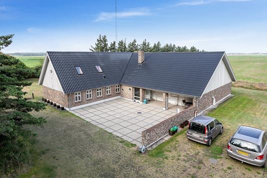Villa på Knudsmarkvej i Esbjerg V - Set fra haven