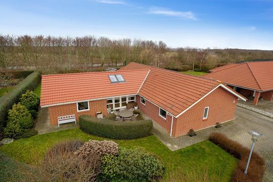 Villa på Kuffen i Esbjerg V - Set fra haven