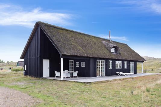 Fritidsbolig på Lodne Bjerge i Fanø - Set fra haven
