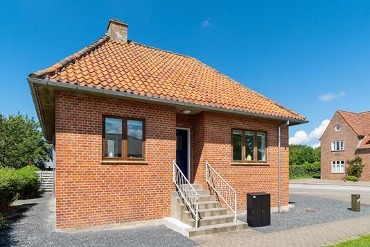 Villa på Kronprinsensgade i Esbjerg - Set fra vejen