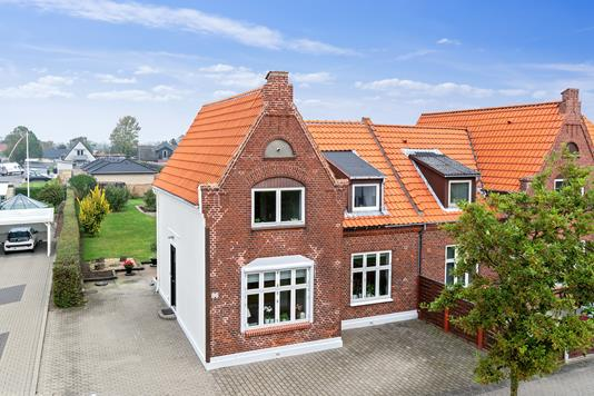 Villa på Darumvej i Esbjerg - Set fra vejen