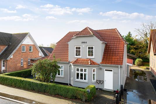 Villa på Nørregade i Gørding - Set fra vejen