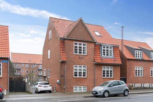 Ejerlejlighed på Frodesgade i Esbjerg - Set fra vejen
