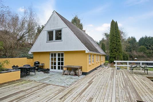 Villa på Kertedalen i Aarup - Terrasse