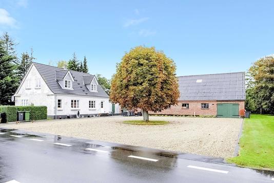 Villa på Krogen i Oksbøl - Set fra vejen