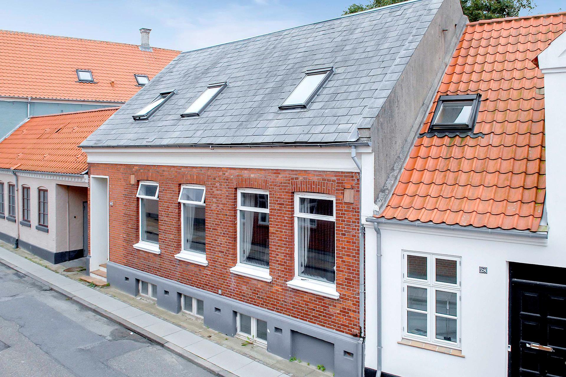 Villa på Smedegade i Varde - Mastefoto