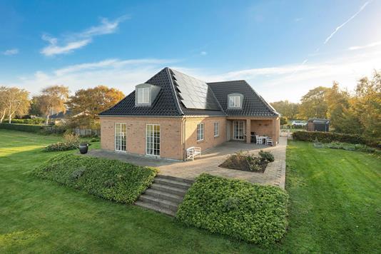 Villa på Vestervang i Tistrup - Ejendommen
