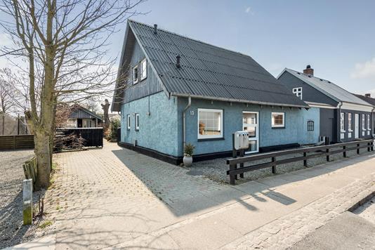 Villa på Vesterhavsvej i Billum - Ejendommen