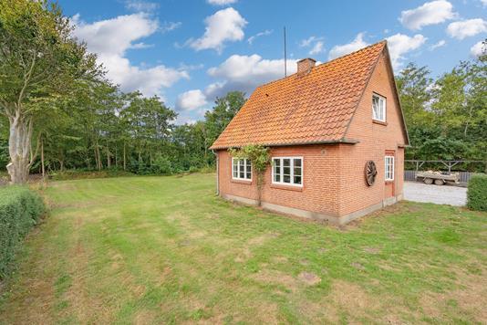Villa på Frøstrupvej i Nørre Nebel - Ejendommen