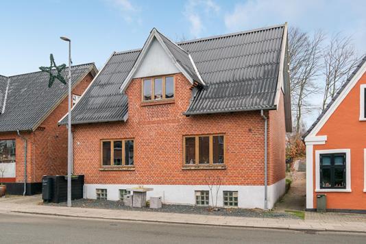 Villa på Søndergade i Ansager - Ejendommen