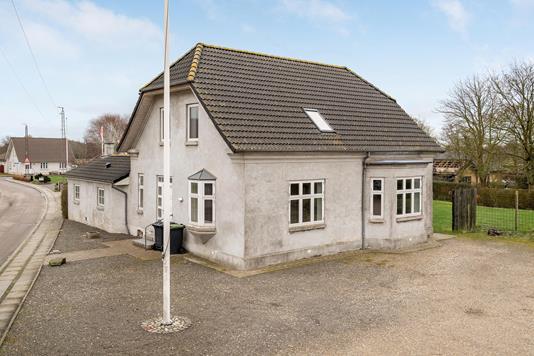 Villa på Østergade i Nørre Nebel - Ejendommen