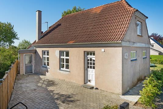 Villa på Kirkebakken i Gredstedbro - Terrasse