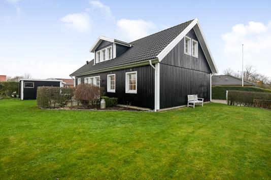 Villa på Harald Damtofts Vej i Holstebro - Terrasse