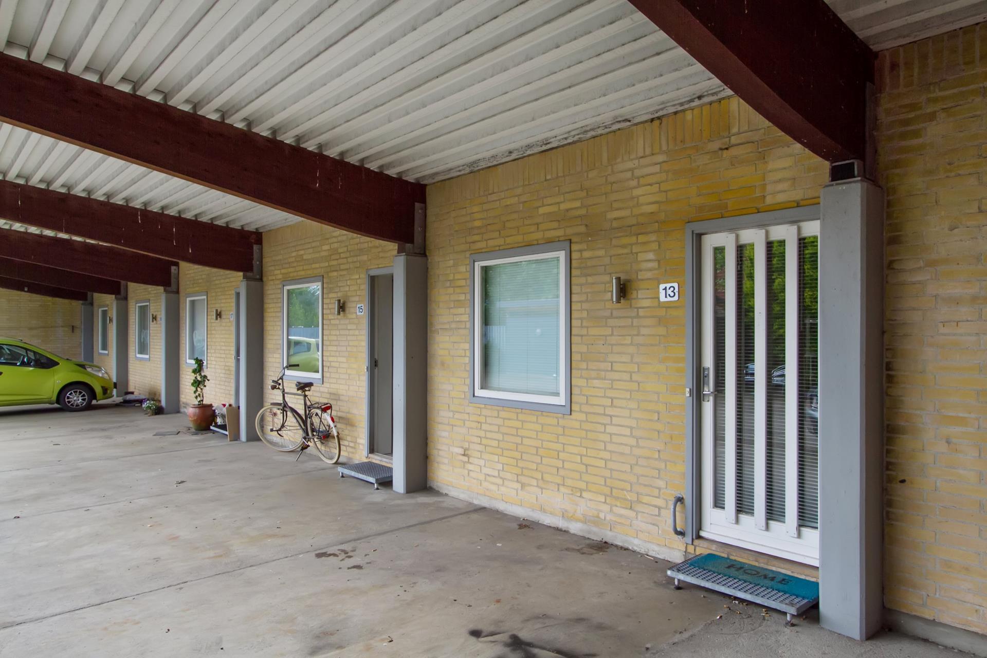 Rækkehus på Kildevej i Holstebro - Indgang