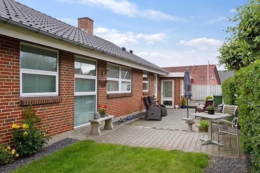 Villa på Engvej i Hjerm - Ejendommen