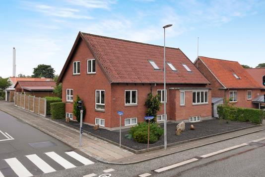 Villa på Vesterbrogade i Holstebro - Facade