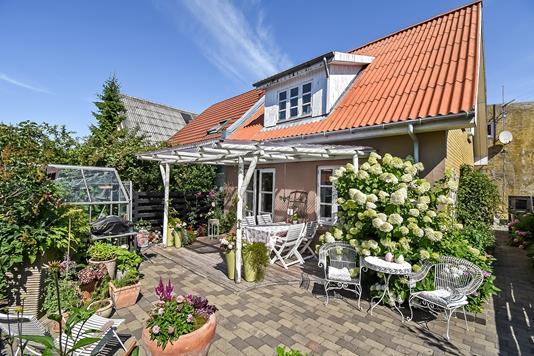 Villa på Skjernvej i Holstebro - Terrasse