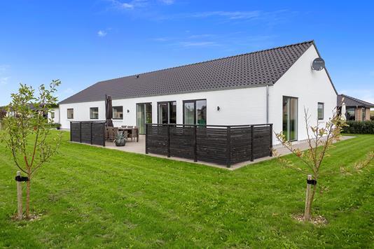 Villa på Kusken i Holstebro - Set fra haven