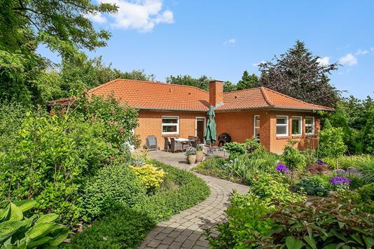 Villa på Hjermvej i Hjerm - Set fra haven